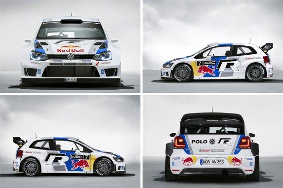 Bli hjälmhållare till föraren av VW:s Polo R i WRC 2013!