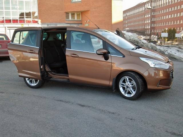 Bilfinansiering tipsar om Ford B-max, billig stadsbil